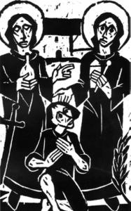 Cosmas & Damian, Schutzpatrone