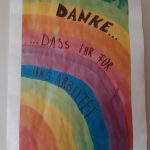 Grundschule sagt DANKE
